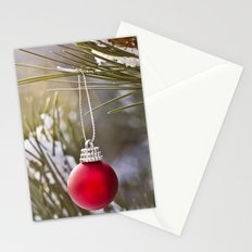 Christmas is here Stationery Cards