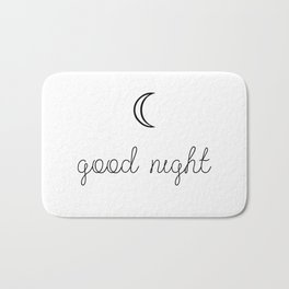 Good Night Bath Mat