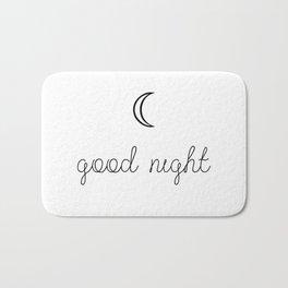 Good Night Bath Mat