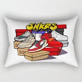Sneakers Flea market Rectangular Pillow