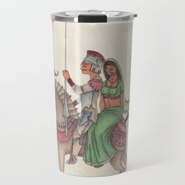 Indian Knight Travel Mug