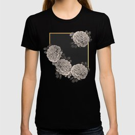 Flowers on a winter night T-shirt