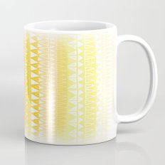 Triangle Gradient Gold Mix Mug