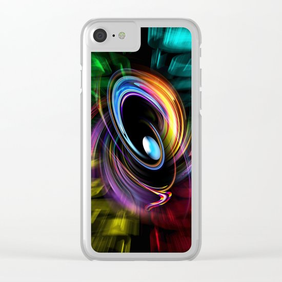 Abstract perfection 46 Clear iPhone Case