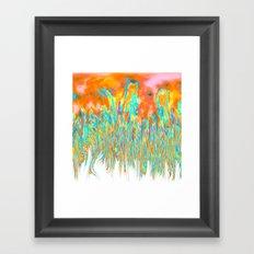 Melting I Framed Art Print