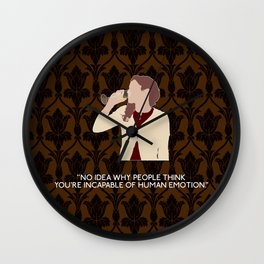 The Six Thatchers - Molly Hooper Wall Clock