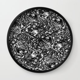 Her flowers Wall Clock