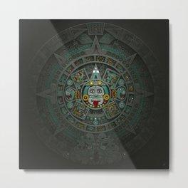 Stone of the Sun II. Metal Print