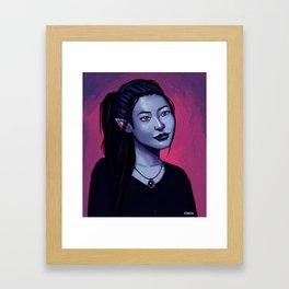 Portrit of Amara Framed Art Print