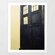 Doctor Who: Time and Relative Dimension in Space Art Print
