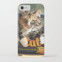 death cab for cutie iPhone & iPod Cases featuring Cutie by Cats in Boxes