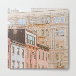 West Village Layers Metal Print