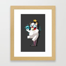 Byran Monster 1 Framed Art Print