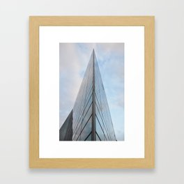 Glass Houses Framed Art Print