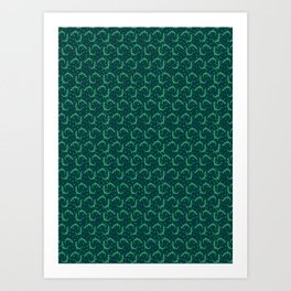 Little Lizards Art Print