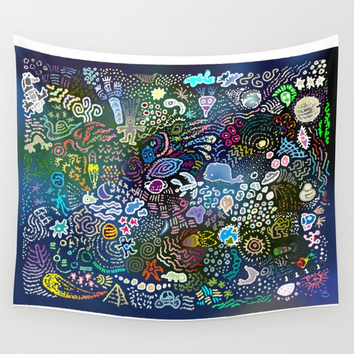 Space Opera Wall Tapestry