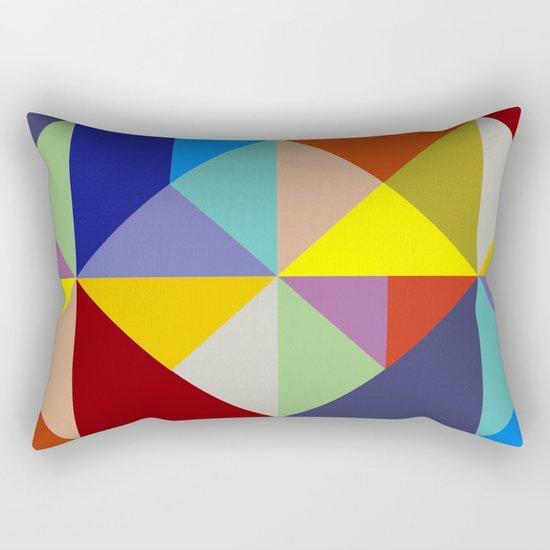 Abstract #229 Rectangular Pillow