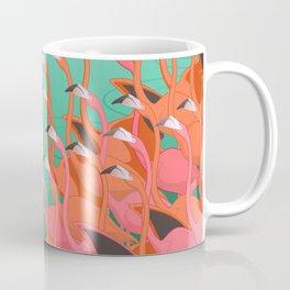 Fresco of the flamingoes. Coffee Mug
