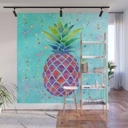 Pineapple Crush Wall Mural