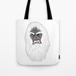 Miscolored Monster Tote Bag