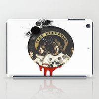 led zeppelin iPad Cases featuring Led Zeppelinn by Andrea Valentina