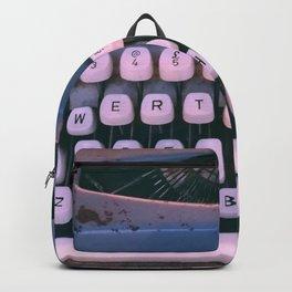 #01#Typewriter#vintage#machine Backpack