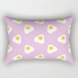 Fried Eggs Rectangular Pillow
