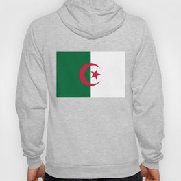 National flag of Algeria - Authentic version (color and scale) Hoody