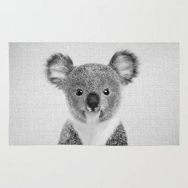 Baby Koala - Black & White Rug