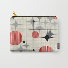 Mid Century Modern Starbursts and Globes 2a Carry-All Pouch