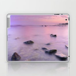 """Pink Sunset. Mediterranean sea."" Laptop & iPad Skin"
