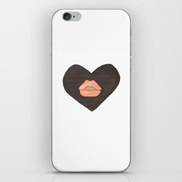 Abby Loves 'Lips & Hearts' by Abby Shepard iPhone Skin