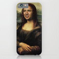 Nicholas Cage Mona Lisa face swap Slim Case iPhone 6