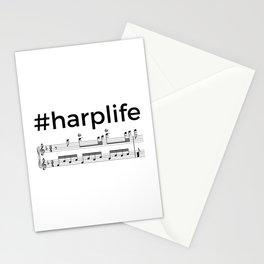 #harplife (2) Stationery Cards