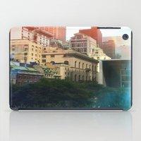 manhattan iPad Cases featuring Manhattan by Keira Madsen