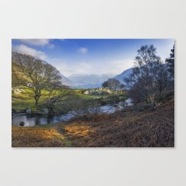 Nant Ffrancon Pass Canvas Print