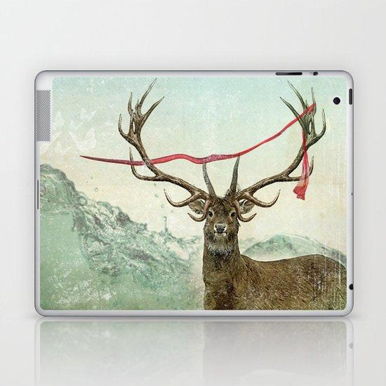 hold deer, tsunami Laptop & iPad Skin