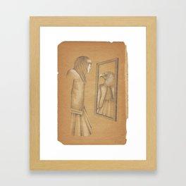 My Shadowed Soul Framed Art Print