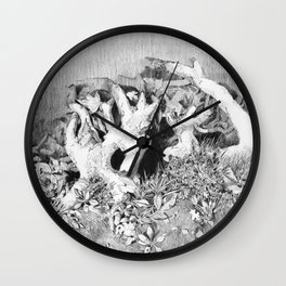 Transitions in nature part 3 Wall Clock