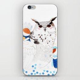 Mamma Owl iPhone Skin