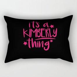 Kimberly Thing Gifts for Kimberly Rectangular Pillow
