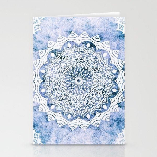 BLUE SKY MANDALA Stationery Cards