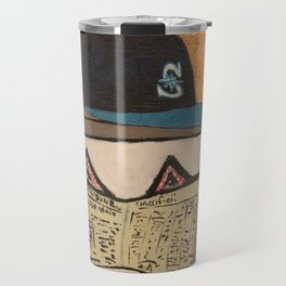 A Day in the Life of a M's Fan Travel Mug