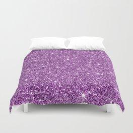 Sparkling glitter print D Duvet Cover