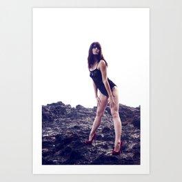 Brittney Lapham - Volcanic Art Print