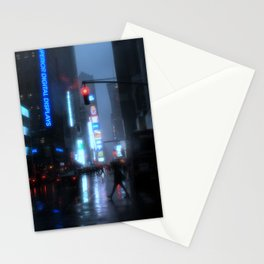 NYC Rain II Stationery Cards