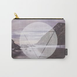 Calm Waters sacred geometry circle triangle Carry-All Pouch