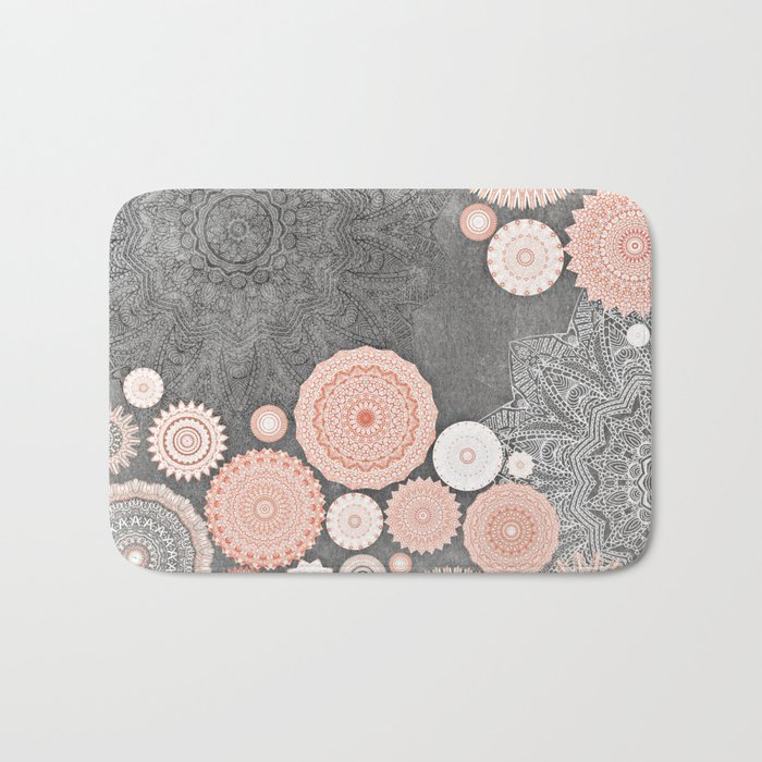 FESTIVAL FLOW BLUSH SUNSHINE Bath Mat