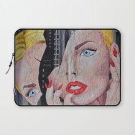 Face Woman Laptop Sleeve
