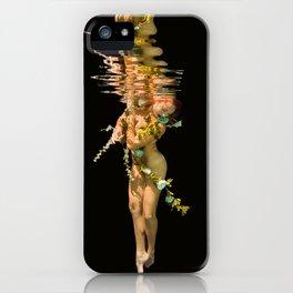 Flower Girl 9 iPhone Case